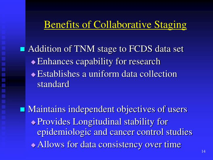 Benefits of Collaborative Staging