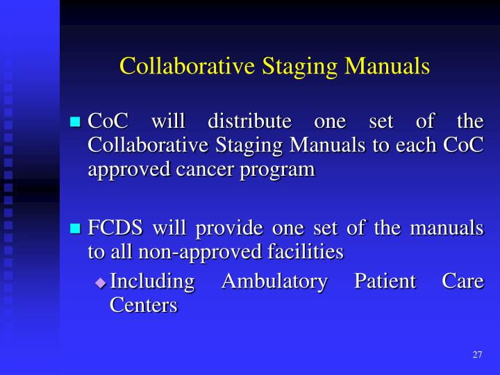 Collaborative Staging Manuals