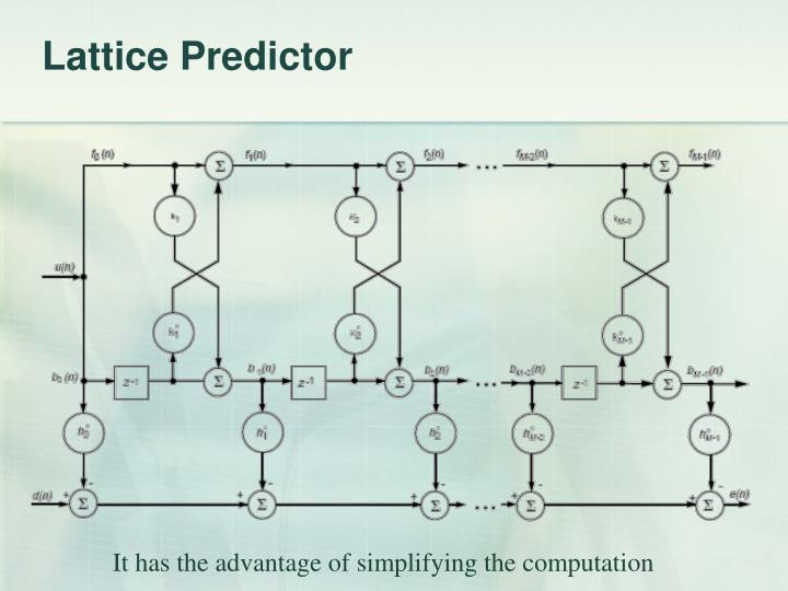 Lattice Predictor