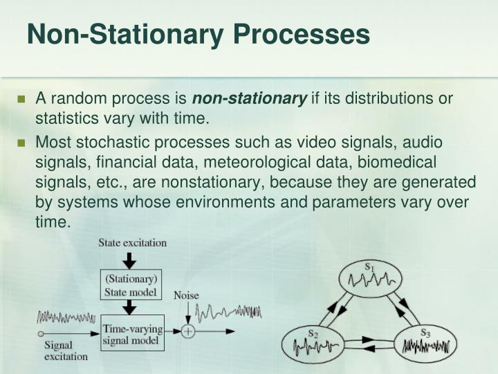 Non-Stationary Processes