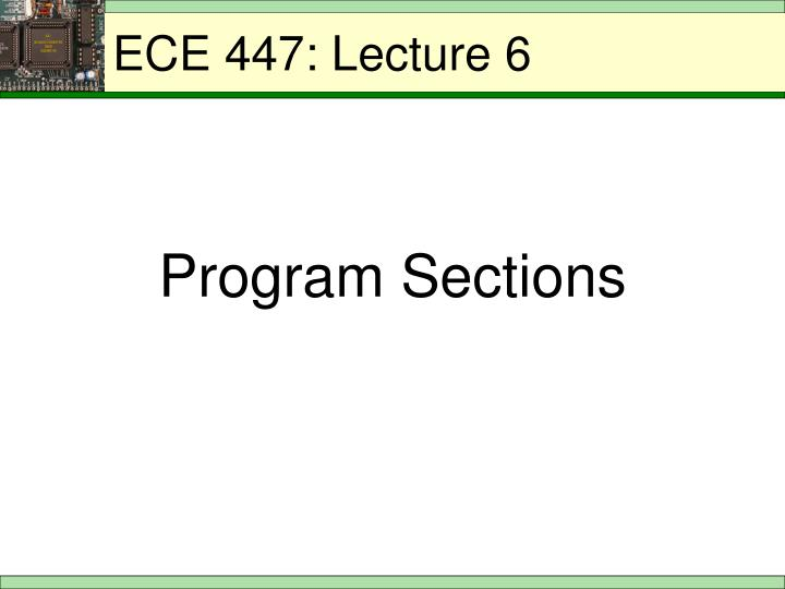 ece 447 lecture 6 n.