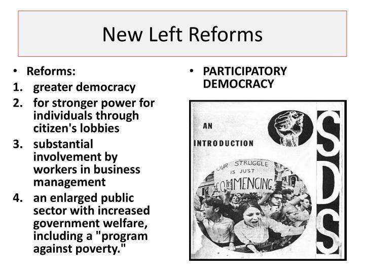 New Left Reforms