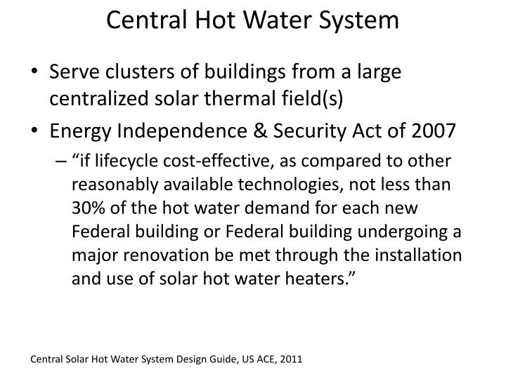 Central Hot Water