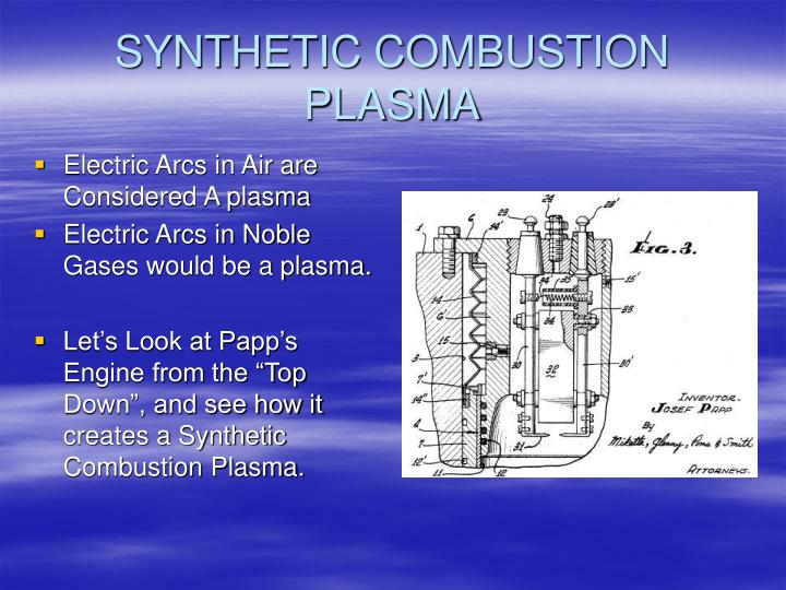 SYNTHETIC COMBUSTION PLASMA