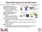future light sources for the west coast