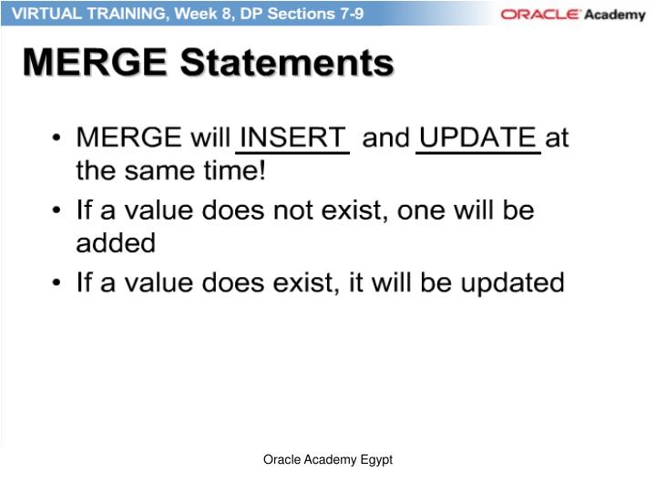 Oracle Academy Egypt