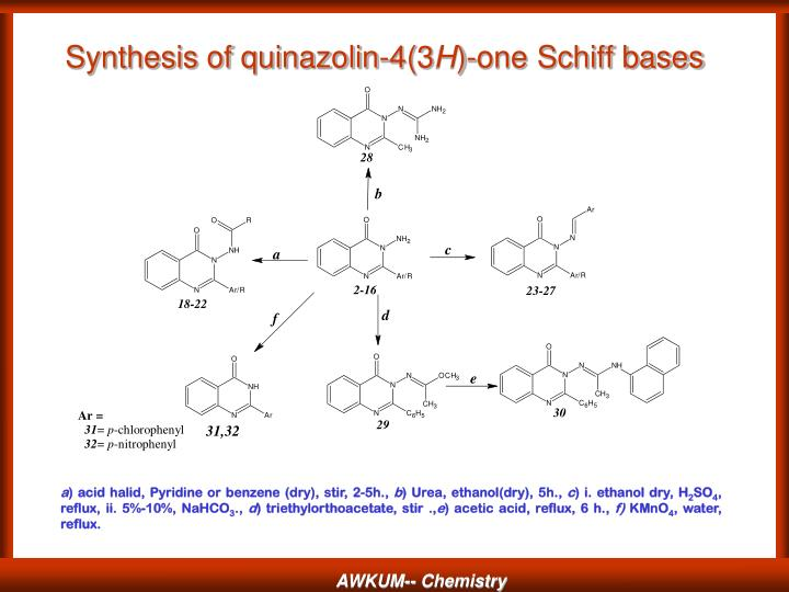 Synthesis of quinazolin-4(3