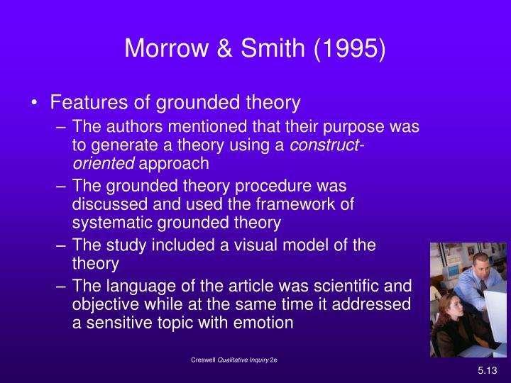 Morrow & Smith (1995)