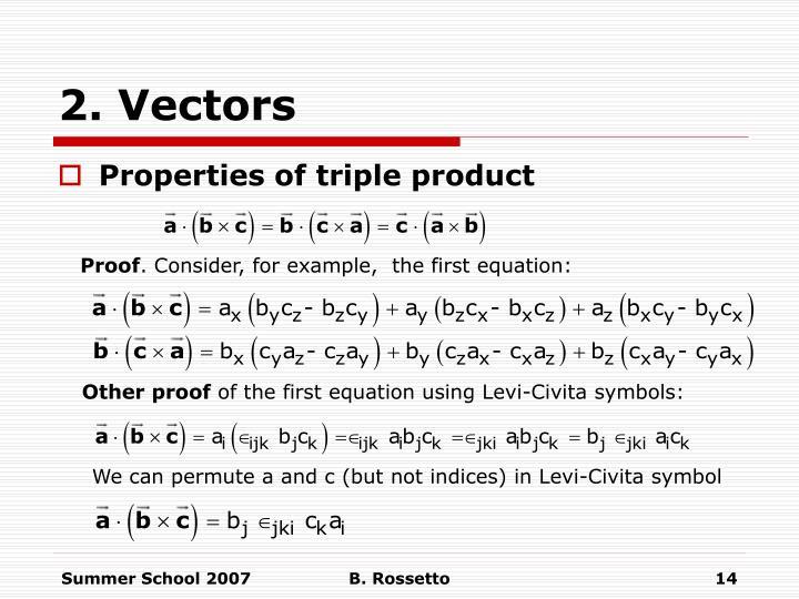 Ppt 2 Vectors Powerpoint Presentation Id6614516