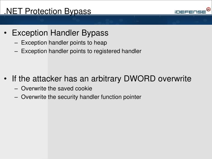 .NET Protection Bypass