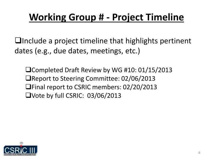 Ppt Working Group 10 911 Prioritization Powerpoint