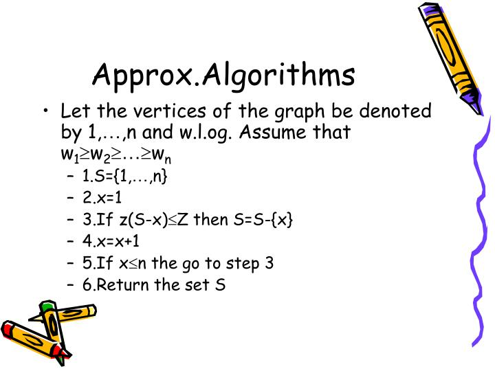 Approx.Algorithms