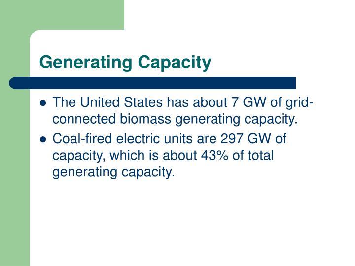 Generating Capacity