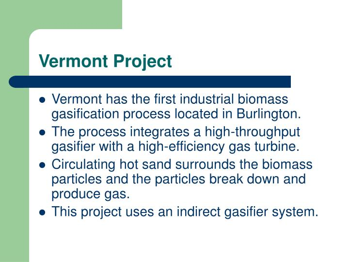 Vermont Project