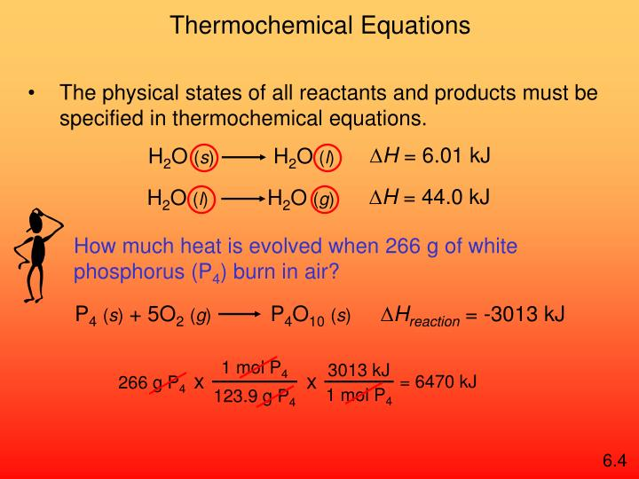 How much heat is evolved when 266 g of white phosphorus (P