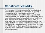 construct validity4