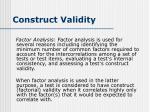 construct validity8