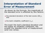 interpretation of standard error of measurement3