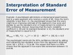 interpretation of standard error of measurement5