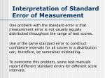 interpretation of standard error of measurement6