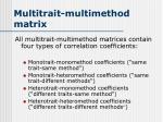 multitrait multimethod matrix2