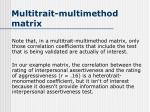 multitrait multimethod matrix3