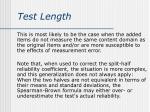 test length1