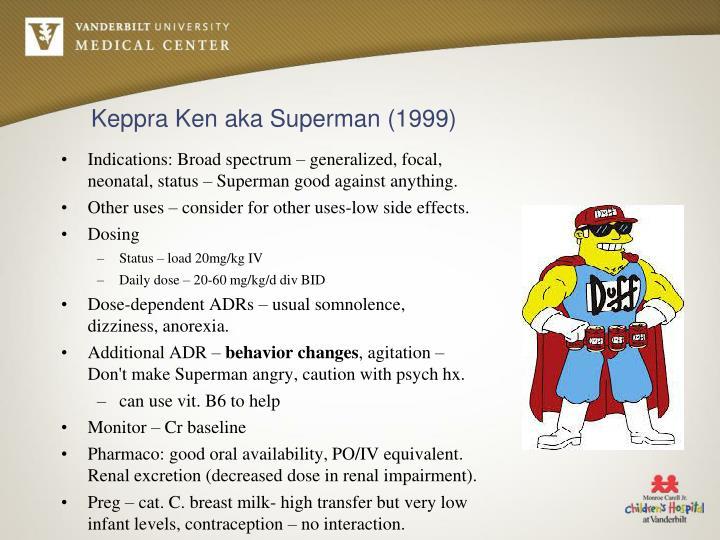 Keppra Ken aka Superman (1999)