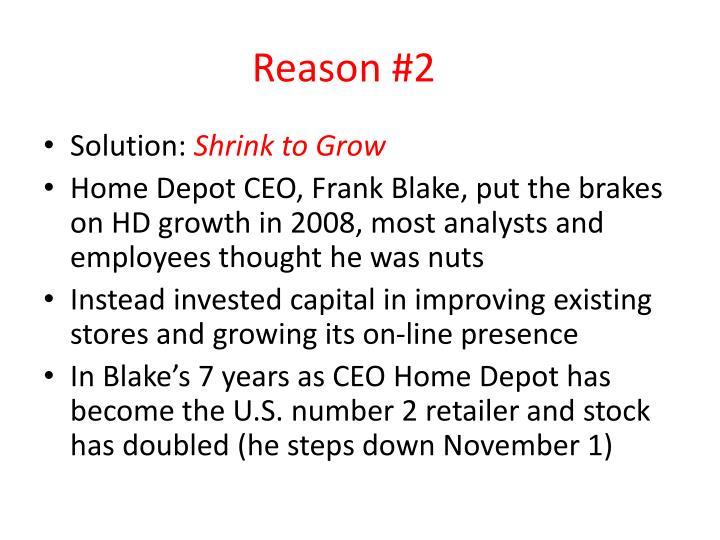 Reason #2