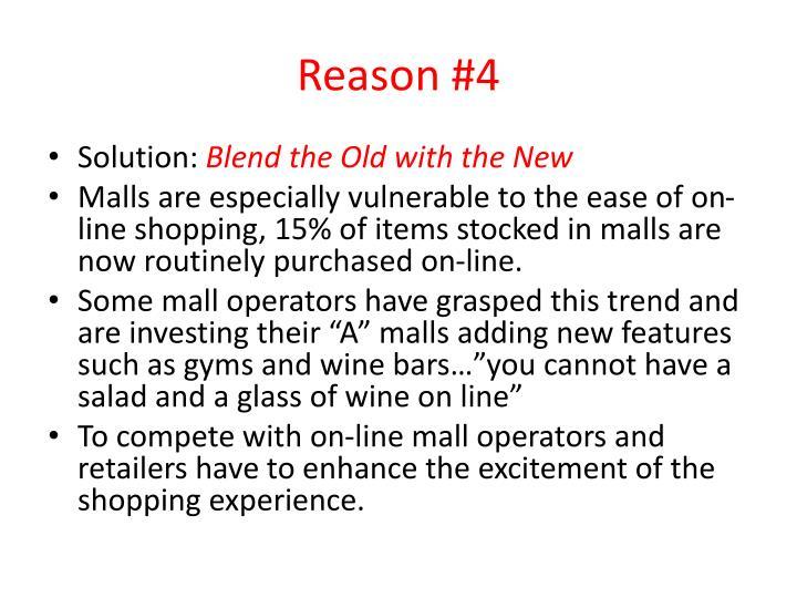 Reason #4