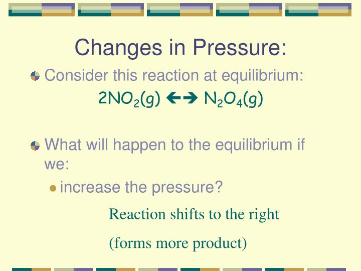 Changes in Pressure: