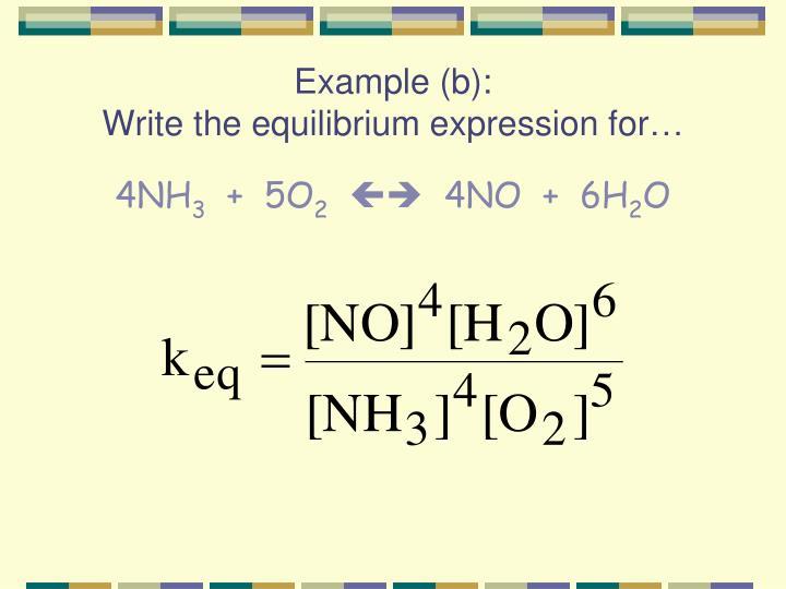 Example (b):