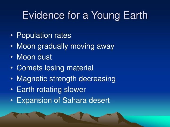 Evidence for a Young Earth