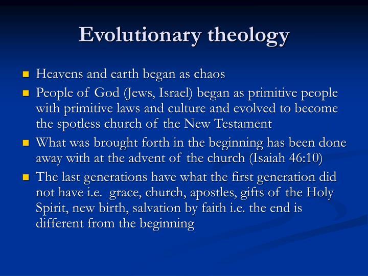 Evolutionary theology