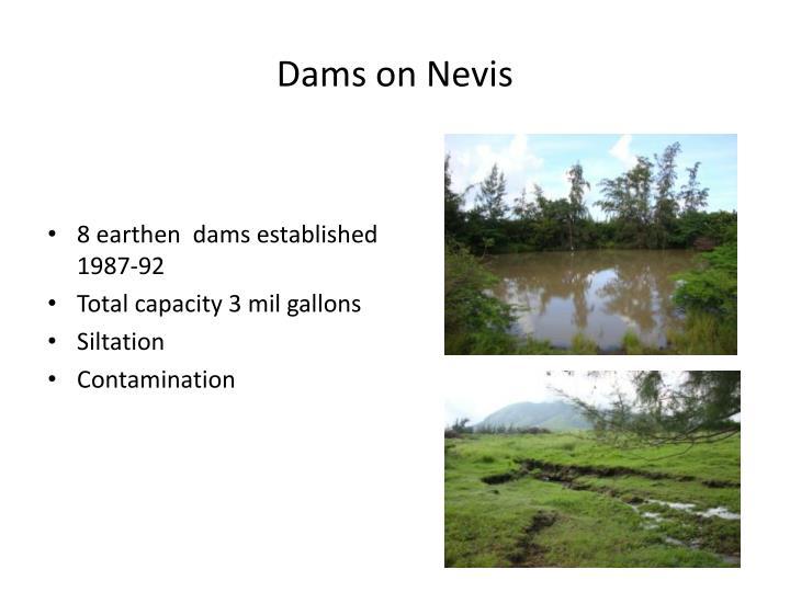 Dams on Nevis