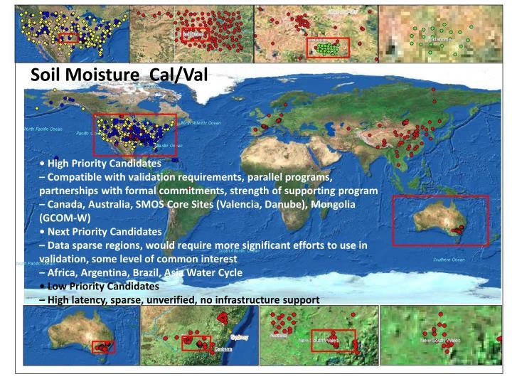 Soil Moisture  Cal/Val