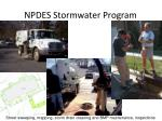 npdes stormwater program