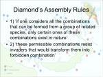 diamond s assembly rules1