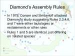 diamond s assembly rules5