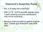 diamond s assembly rules8