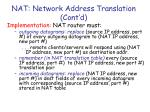 nat network address translation cont d1