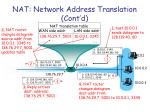 nat network address translation cont d2