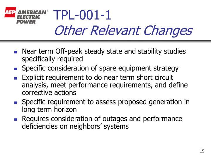 TPL-001-1