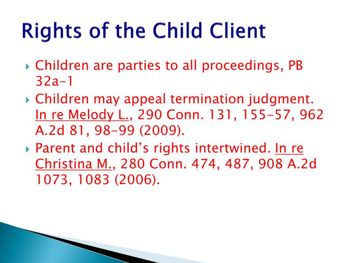 Rights of the Child Client