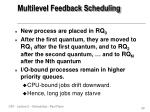 multilevel feedback scheduling1