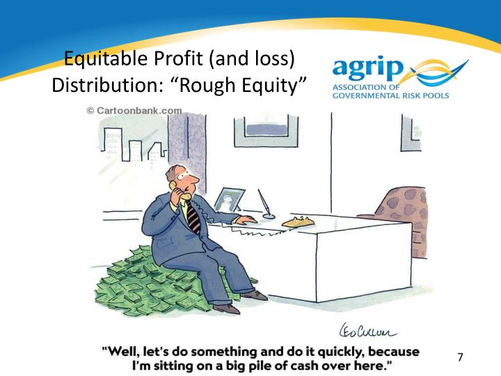 Equitable Profit (and loss)