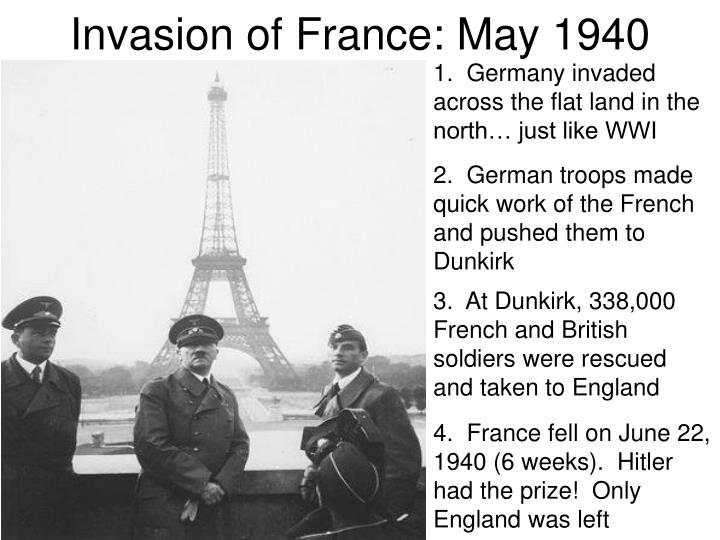 Invasion of France: May 1940