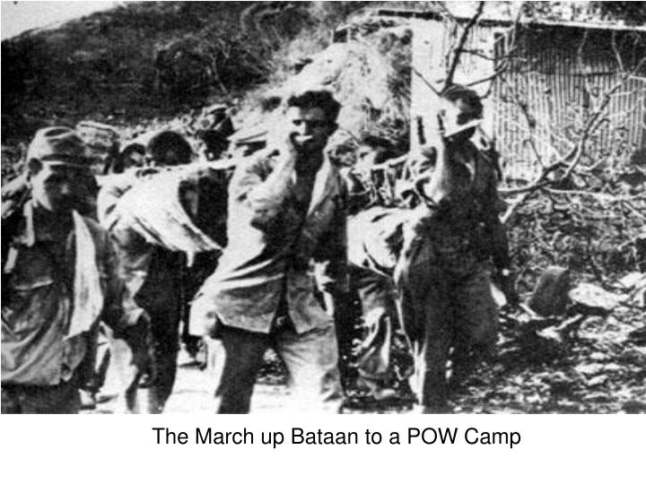 The March up Bataan to a POW Camp