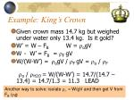 example king s crown