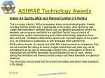 ashrae technology awards11